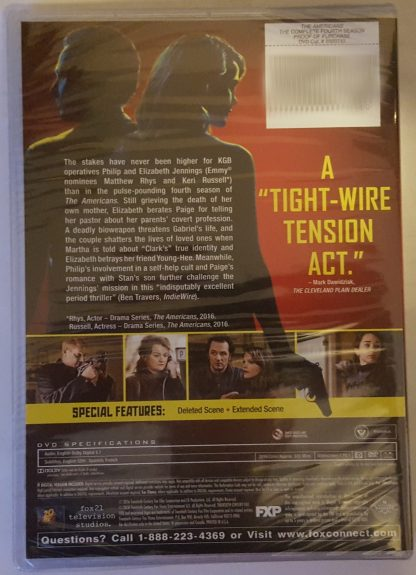 The Americans Season 4 (DVD)