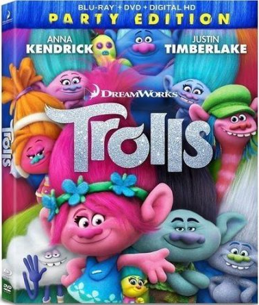 Trolls (Party Edition) (Blu-ray + DVD + Digital HD)